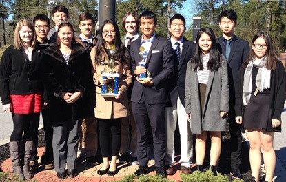 Math Team Places Second in State Competition