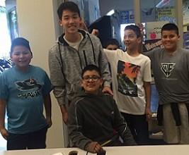PSE Senior Shares Math Skills with Elementary Students