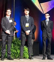 PSE Student Places in Top Five in DECA Competition